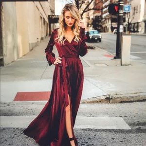 VICI Swept Away Maxi Dress